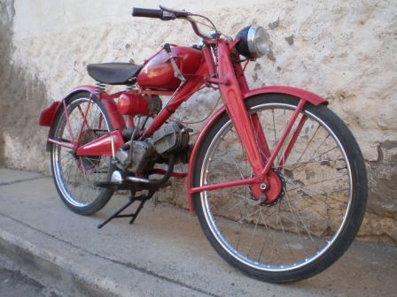 Moto Guzzi Hispania 65 c.c