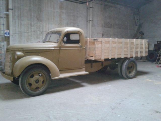 Camión Chevrolet años 30