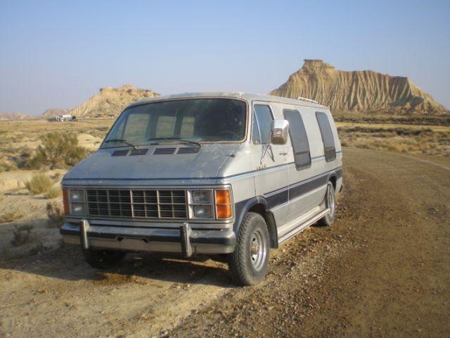 Dodge Ram Van 1985 - Bardenas de Navarra