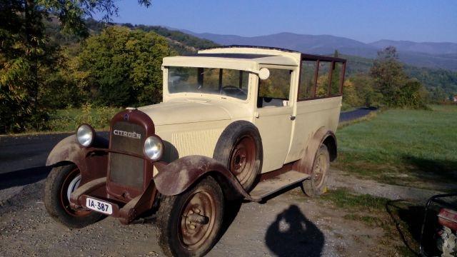 Camioneta años 30