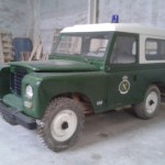 Land Rover Guardia Civil