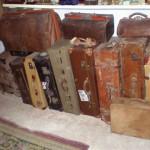 Conjuntos de maletas y maletines antiguos