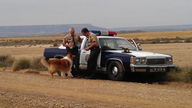 """Rodaje Policía U.S.A  """"Bardenas Reales de Navarra"""""""