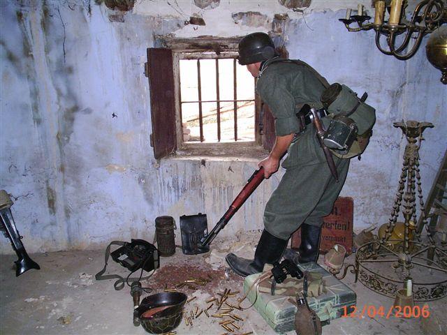 Soldado alemán, recreación